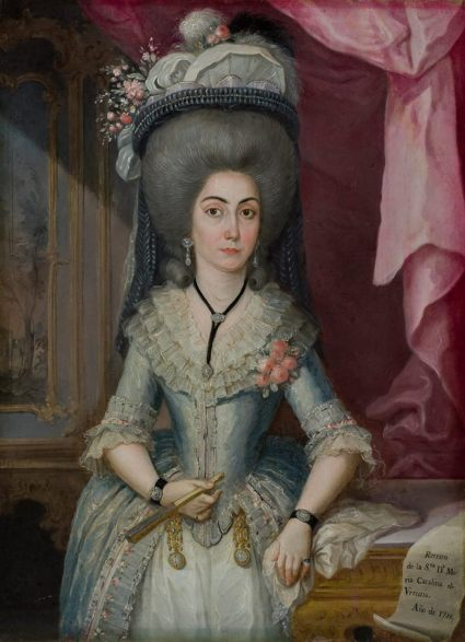 jose campeche portrait of maria catalina de urritia