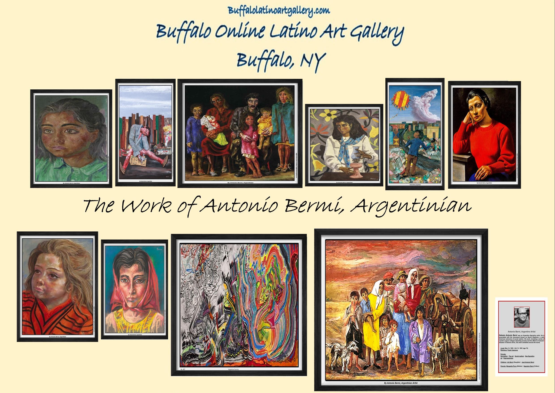 The Work of Antonio Bermi